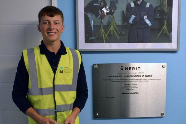 David Llewellyn Apprenticeship Awards - Thomas Hardy