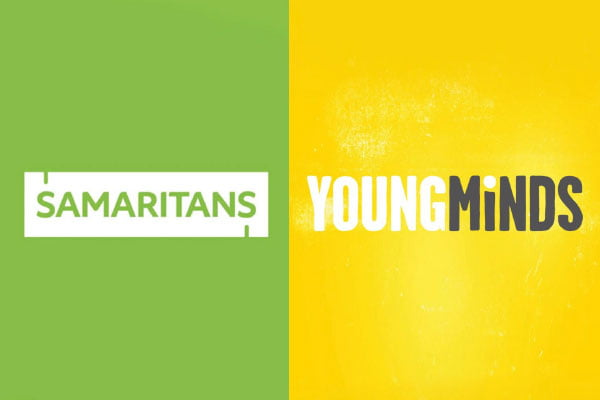 Mental Health Charitable Donations - Samaritans & YoungMinds
